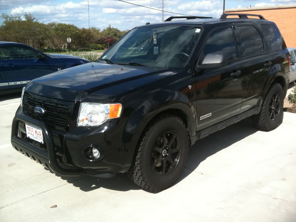 Ford escape 2008 black viewing gallery
